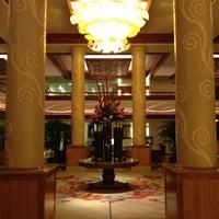Photo taken at Hilton Waikiki Beach by Lindsey Lee on 1/12/2013
