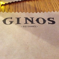 Photo taken at Ginos by M Angeles C. on 3/28/2014