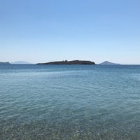 Photo taken at Agriolivadi beach by Lilian D. on 8/11/2018
