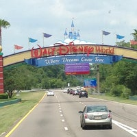 Photo taken at Walt Disney World Entrance by Lauren A. on 5/19/2013