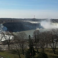 Photo taken at Sheraton on the Falls Hotel by Jerry J. on 4/4/2013