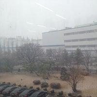 Photo taken at SKC 첨단기술중앙연구소 by Ian K. on 12/1/2014
