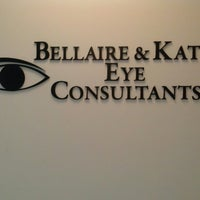 Photo taken at Bellaire and Katy Eye Consultants by Maribel R. on 10/9/2014