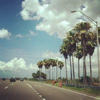 Photo taken at Courtney Campbell Causeway by Phil G. on 7/9/2013