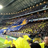 Photo taken at Friends Arena by Lennart W. on 5/22/2013