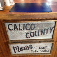 Photo taken at Calico County by Wallace J. on 10/7/2012