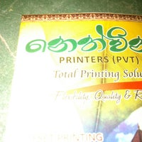 Photo taken at Nethwin Printers (PVT) LTD by Dulanja S. on 6/29/2013
