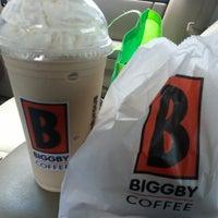 Photo taken at BIGGBY COFFEE by Amanda C. on 6/20/2013