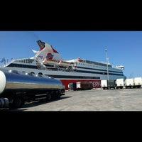 Photo taken at Ancona Ferries Terminal by Aşkın O. on 7/11/2017