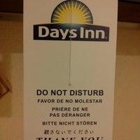 Photo taken at Days Inn by Sabrina F. on 1/26/2013