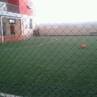 Photo taken at Panglima futsal by Jauharur R. on 11/1/2012