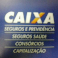 Photo taken at Caixa Econômica Federal by kleber N. on 3/6/2013