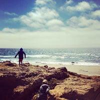 Photo taken at Gazos Creek Beach by Matt M. on 8/15/2013