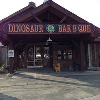 Photo taken at Dinosaur Bar-B-Que by Andrew T. on 4/7/2013