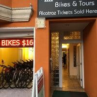 Photo taken at Blazing Saddles Bike Rentals by Andrew T. on 11/15/2017