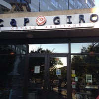 Photo taken at Capogiro by Andrew T. on 8/24/2013