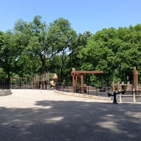 Photo taken at Central Park - 96th Street Playground by Andrew T. on 5/16/2013