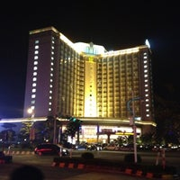 Photo taken at Hotel Fortuna 财神酒店 by Sameer P. on 12/8/2012
