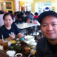 Photo taken at Bacolod Chicken BBQ House by DarthMao on 11/1/2012