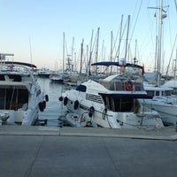 Photo taken at Kemer Türkiz Marina by Ertan T. on 7/28/2013