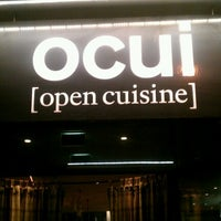 Photo taken at ocui [open cuisine] by Patrick F. on 10/8/2012