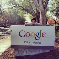 Photo taken at Googleplex - 900 by Marty G. on 11/8/2013