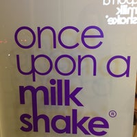 Photo taken at once upon a milkshake by Claudia D. on 9/29/2013