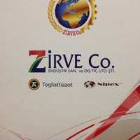Photo taken at ZİRVE Co. ENDÜSTRİ SAN. ve DIŞ. TİC. LTD. ŞTİ. by Emrah on 7/16/2014