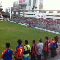 Photo taken at PAT Stadium by Karun T. on 5/12/2013