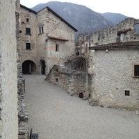 Photo taken at Castel Beseno by Emanuel C. on 3/18/2013