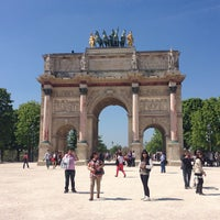 Foto tirada no(a) Arco do Triunfo do Carrossel por Scott B. em 4/24/2013