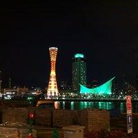 Photo taken at Kobe Port Tower by Vivian W. on 1/17/2013