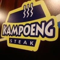 Photo taken at Kampoeng Steak by Irma N. on 1/30/2013