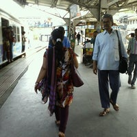 Photo taken at Lower Parel Railway Station by Virtuous V. on 5/17/2013