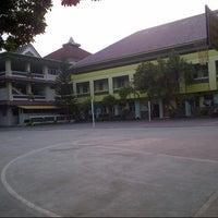 Photo taken at SMA Muhammadiyah 2 Yogyakarta by Naufal B. on 4/30/2013