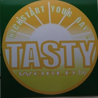 Photo taken at Tasty World by Vincent D. on 7/21/2013