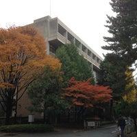 Photo taken at 京都大学 総合研究9号館(旧工学部3号館) by Hiro I. on 11/23/2012