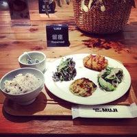 Photo taken at Café & Meal MUJI by Ken Y. on 6/22/2013