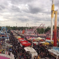 Photo taken at Foire du Trône by Naomi B. on 5/9/2013