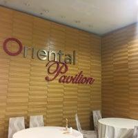 Photo taken at Oriental Pavilion Restaurant by Muhammad Y. on 1/26/2017