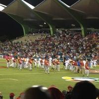 Photo taken at Estadio Hiram Bithorn by Victor E. on 3/8/2013