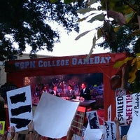 Photo taken at ESPN College GameDay by Amber R. on 10/6/2012