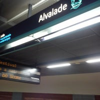 Photo taken at Metro Alvalade [VD] by Emma-Lynn G. on 10/9/2012