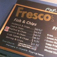 Photo taken at Fresco's Fish & Chips by media a. on 11/25/2012