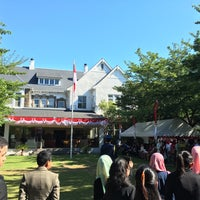 Photo taken at Embassy of the Republic of Indonesia by Aji R. on 8/16/2016