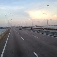 Photo taken at Malaysia - Singapore Border by Aji R. on 3/16/2013