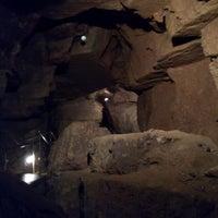 Photo taken at Abaligeti Cseppkőbarlang by Adam G. on 8/20/2013