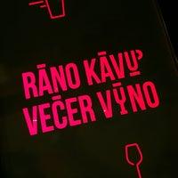 Photo taken at Ráno Kávu Večer Víno by Michal T. on 8/5/2016