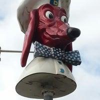 Photo taken at Doggie Diner Head by Shari K. on 12/29/2012