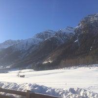Photo taken at Gschnitztal by Tayfun Y. on 1/25/2017